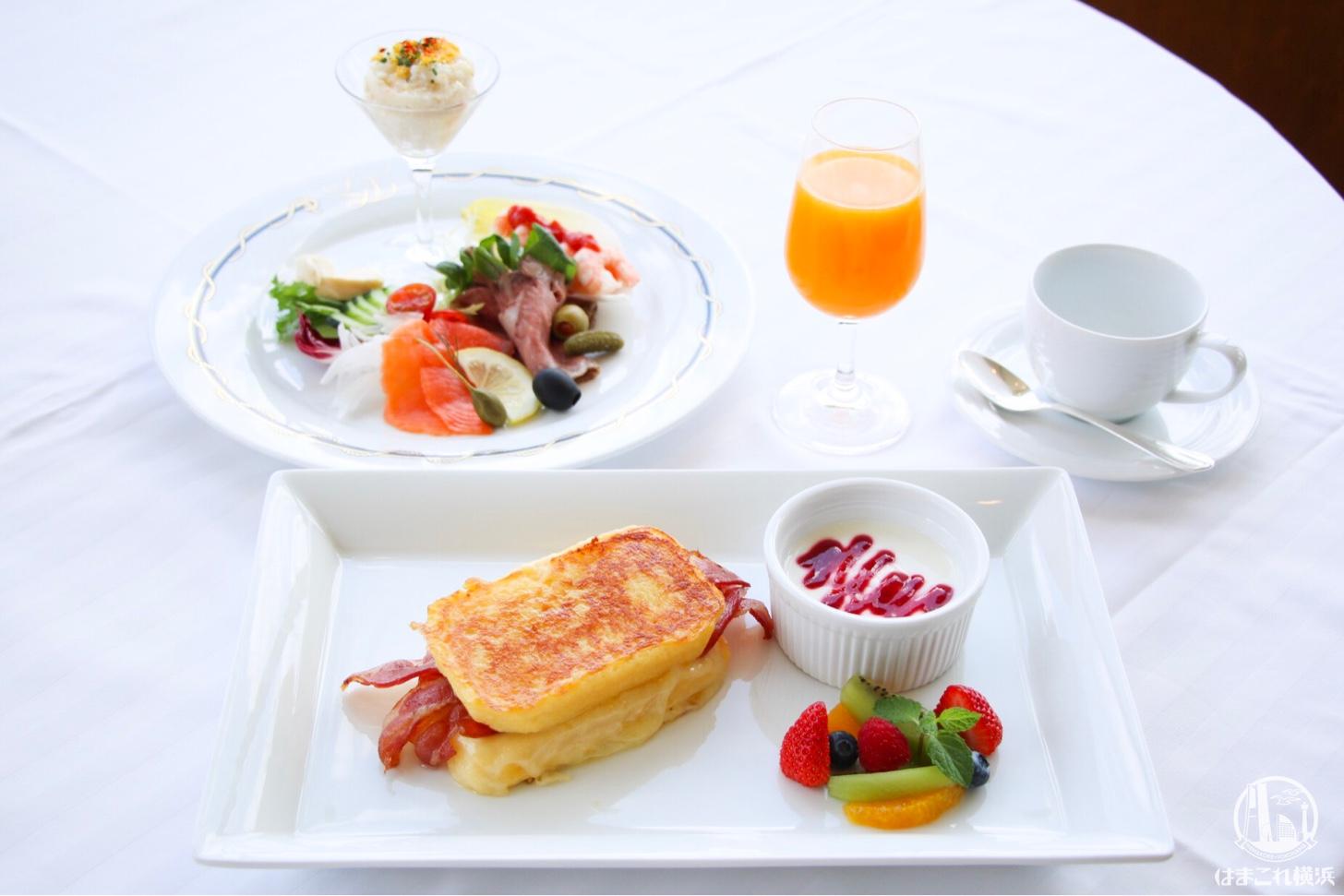 ホテルニューグランドの朝食「モンテクリスト サンド」は特別な日に送りたい新メニュー