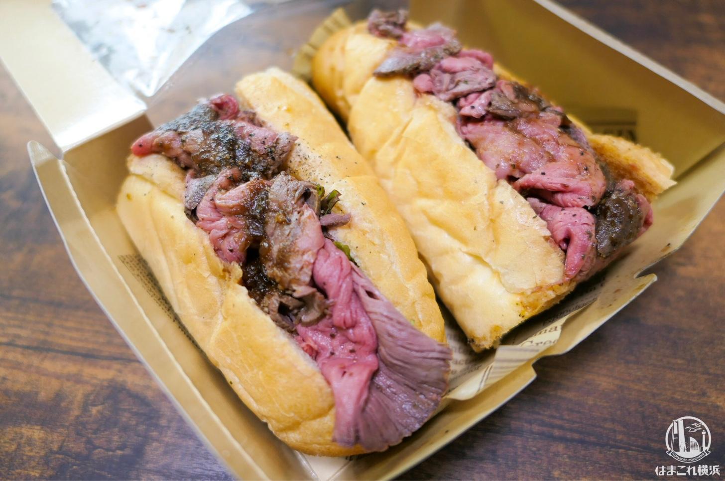ニックストックの横浜限定「ローストビーフサンド」が旨い肉だらけでリピ確実!