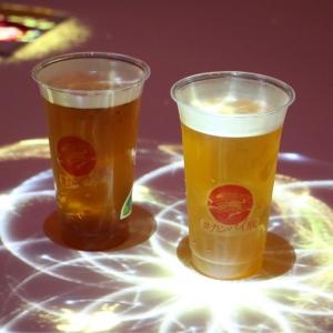 横浜赤レンガ倉庫「#カンパイ展」現地レポ!光の演出に見入るキリンの体験型無料イベント