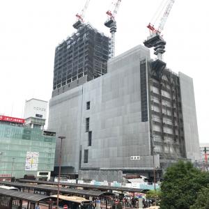 2018年6月 横浜駅西口 駅ビル完成までの様子 [写真掲載]