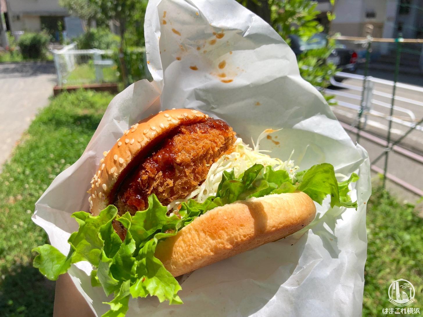 """松原商店街「ビゼン メルカート」の土日限定バーガーは""""出来たて""""の人気グルメ!"""