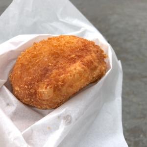 松原商店街「サン ペルル」の半熟玉子カレーパンは食べ歩き・お土産におすすめ!