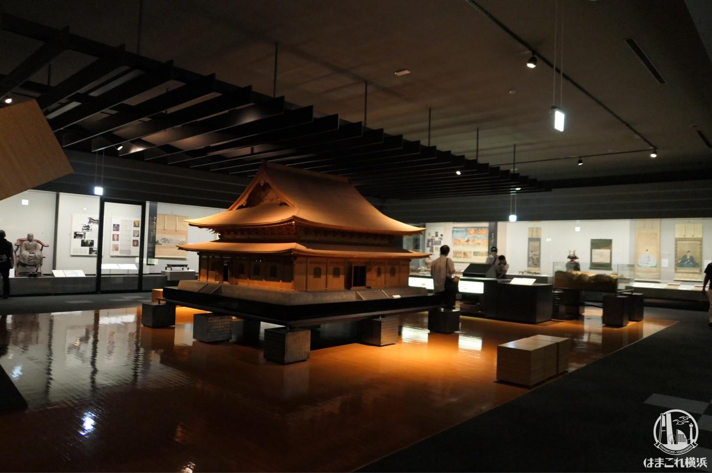 神奈川県立歴史博物館は旧石器時代から現代まで一連の流れで濃厚に知れるスポットだった!