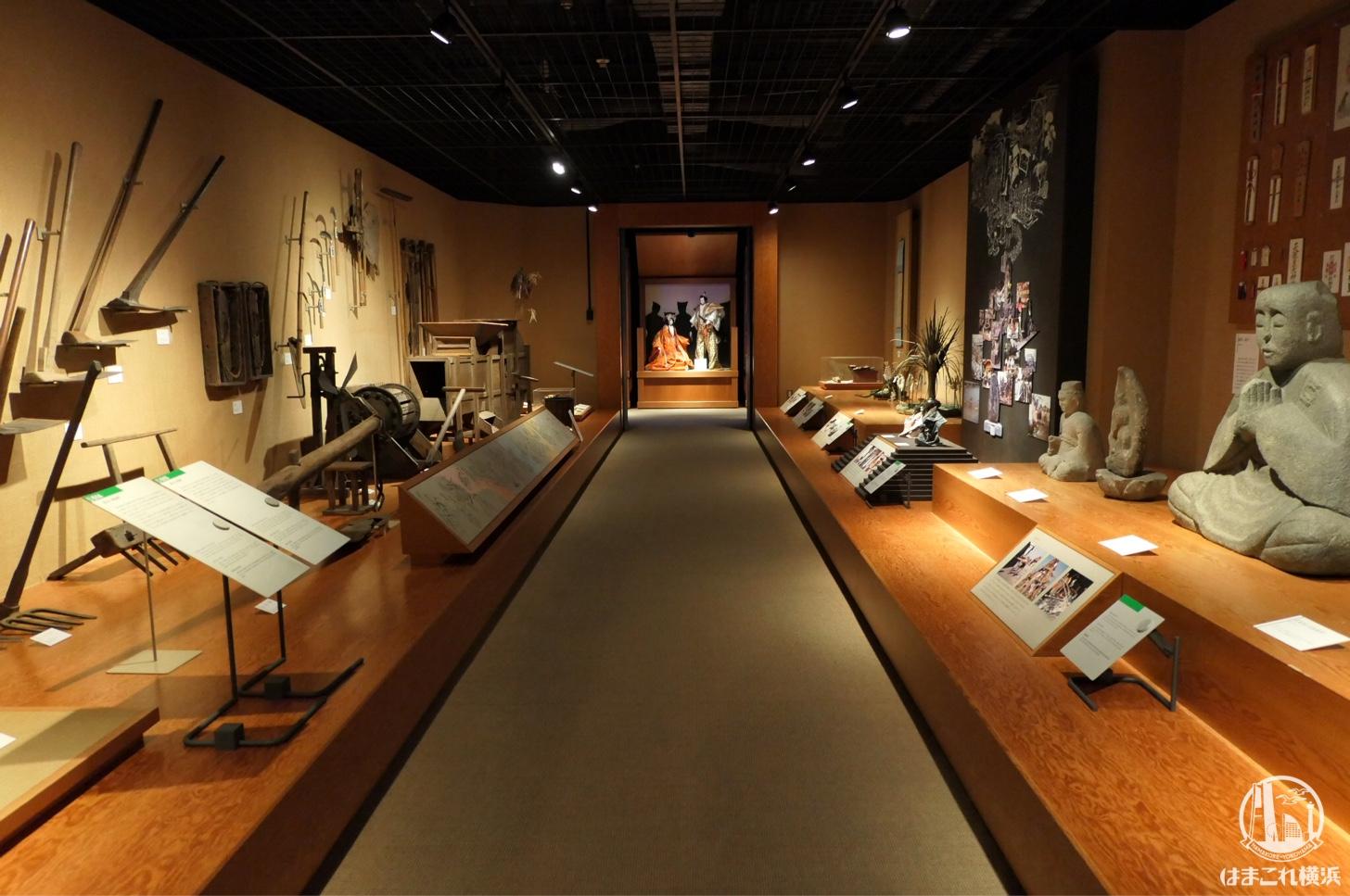 神奈川県立歴史博物館 常設展
