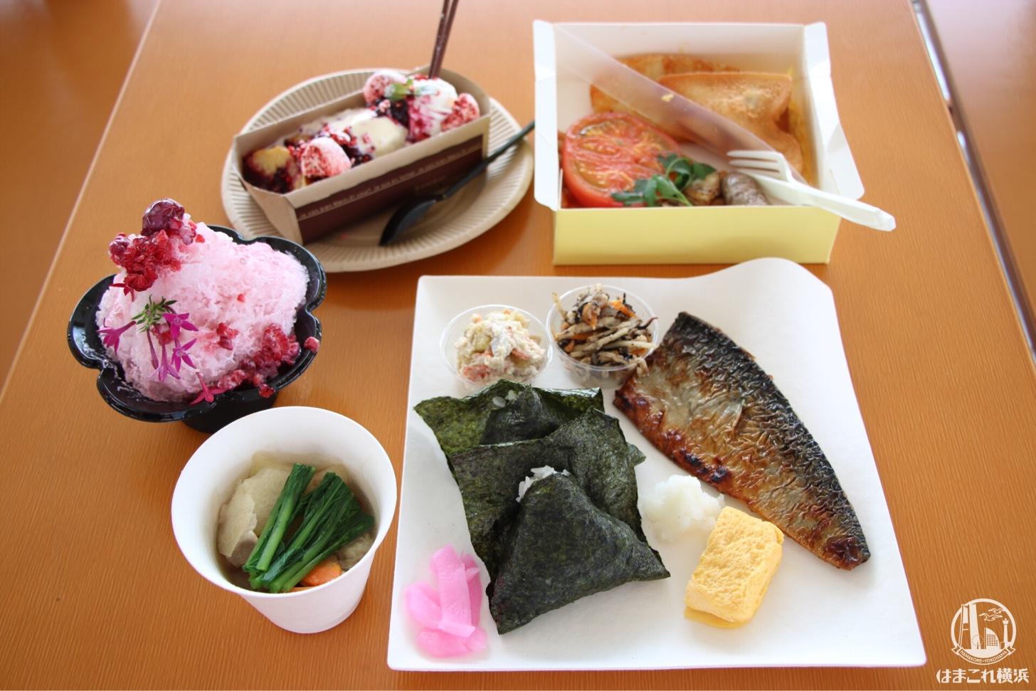 横浜赤レンガ倉庫「みんなの朝」各朝食