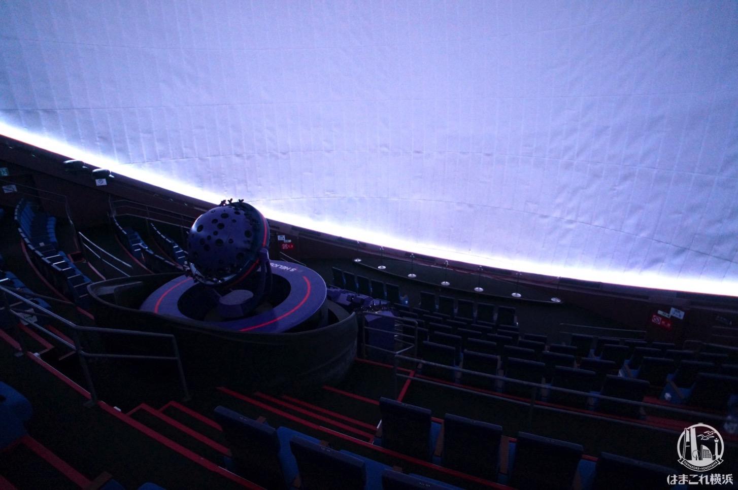 はまぎんこども宇宙科学館 宇宙劇場(プラネタリウム)