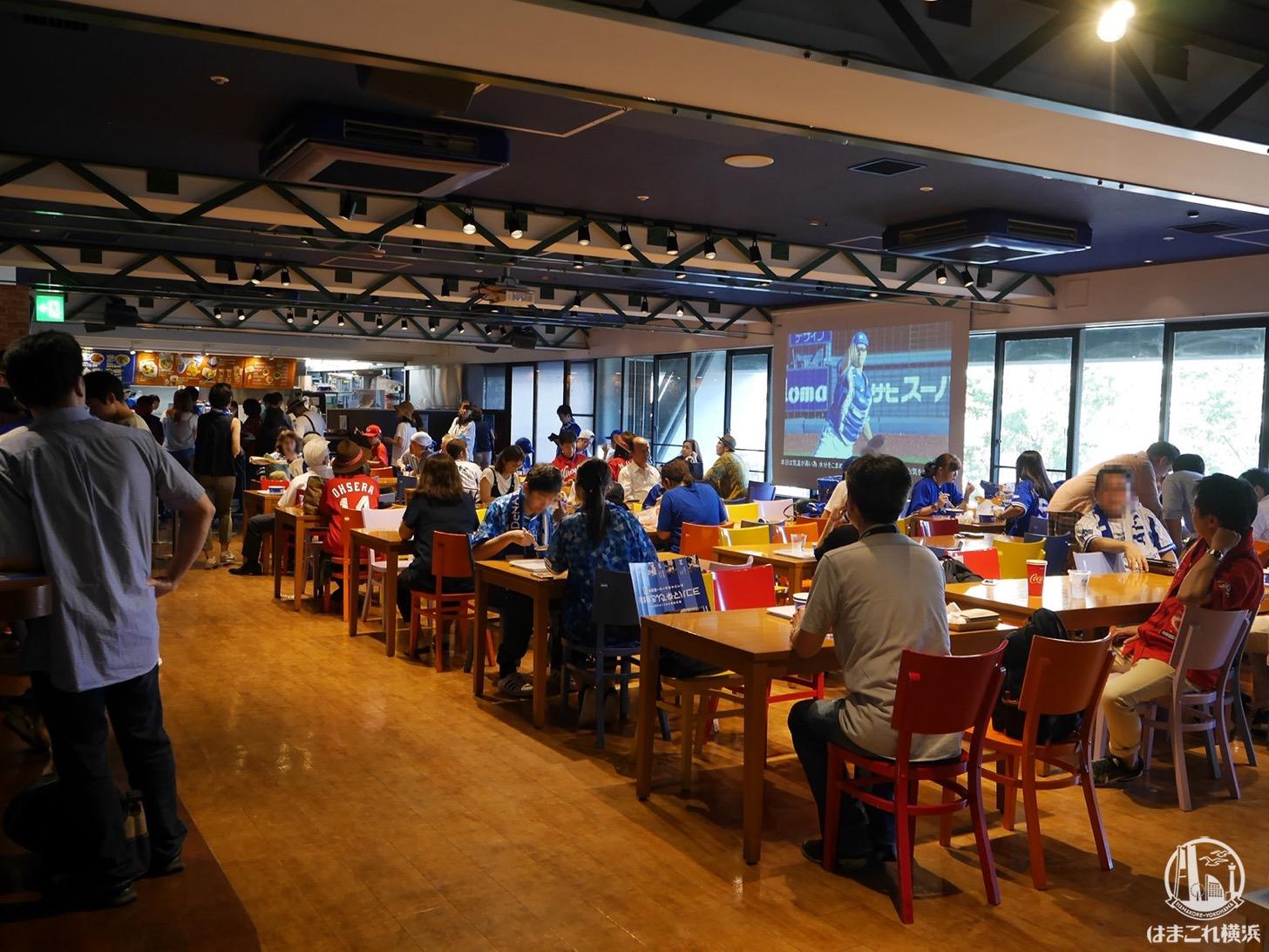 横浜スタジアム内「カフェ・ビクトリーコート」