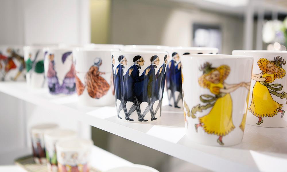 マグカップ(デザインハウスストックホルム)各2,300円