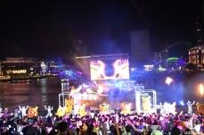 2018年 ピカチュウ夜の水上パレードが光・音楽・夜景を融合したショーの連続で凄すぎ!