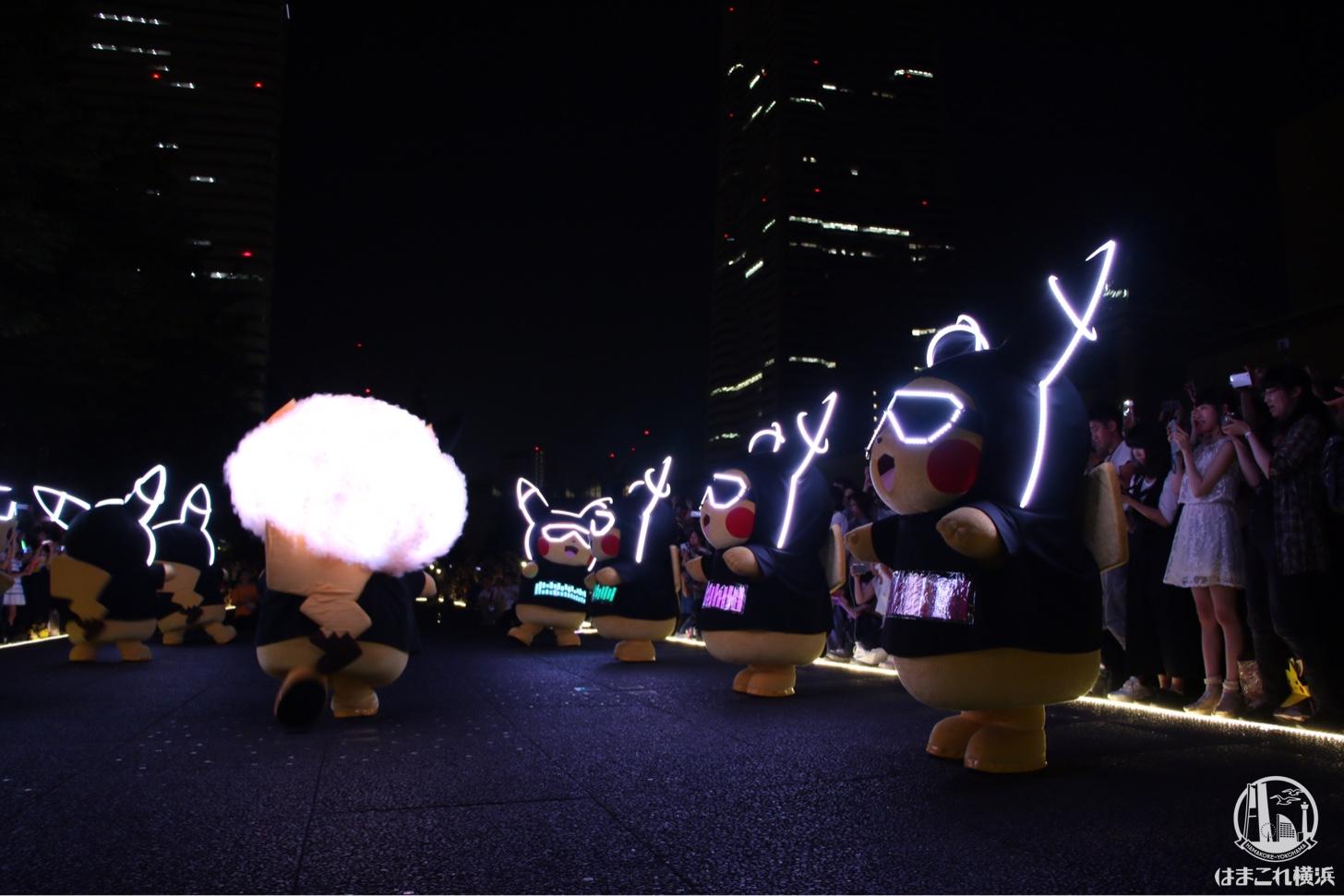 ピカチュウの大行進(夜の部)