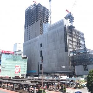 2018年8月 横浜駅西口 駅ビル完成までの様子 [写真掲載]