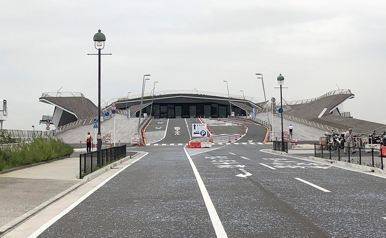 横浜港大さん橋国際客船ターミナル駐車場 「akippa」で予約可能に!