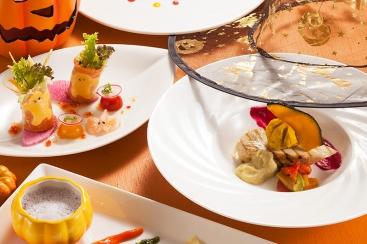 横浜ロイヤルパークホテル「フローラ」でハロウィンランチを10月より開始!