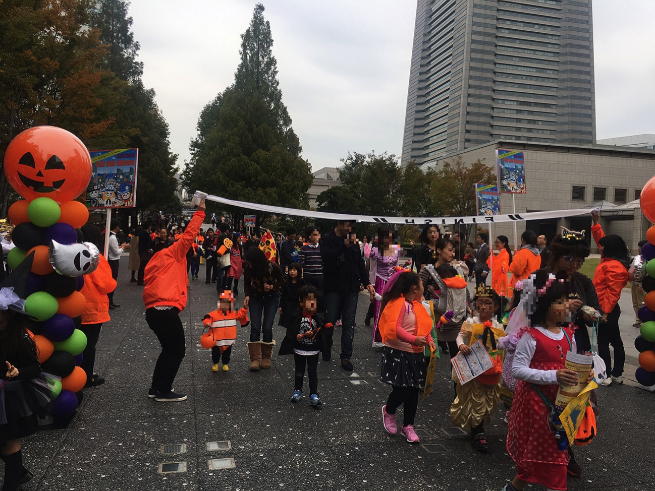 ハロウィンパレード 昨年の様⼦