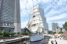 帆船日本丸「総帆展帆」を9月2日に開催!2018年開催はあと3回