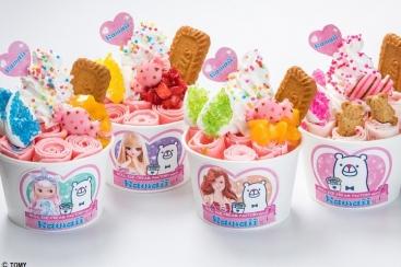 ロールアイスクリームファクトリー、横浜人形の家「Kawaii展」でオリジナル限定メニュー提供!