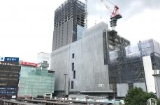2018年9月 横浜駅西口 駅ビル完成までの様子 [写真掲載]