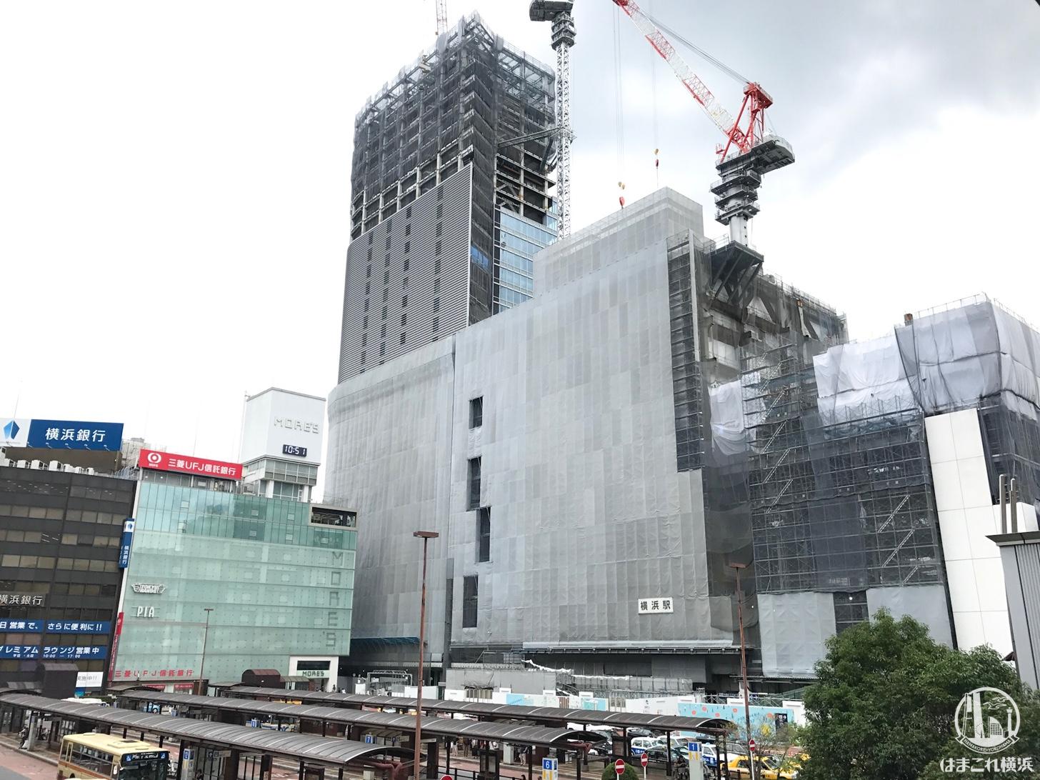 2018年9月 横浜駅西口の様子