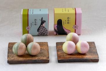 横浜元町 香炉庵でフェリス女学院大学の学生が百人一首をテーマにした和菓子発売!