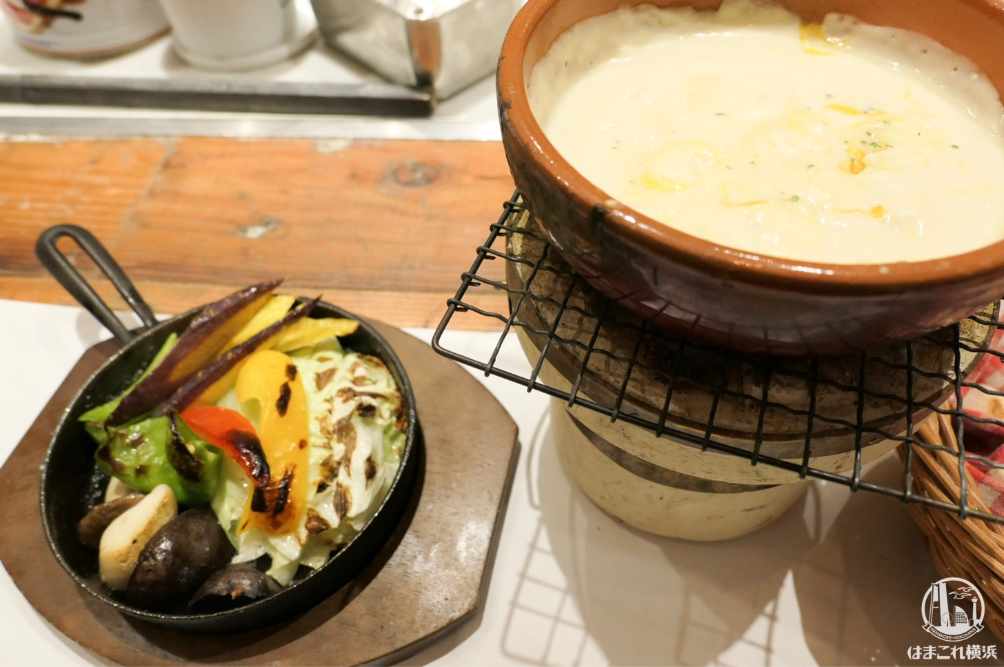 朝採れ 窯焼き 横浜野菜