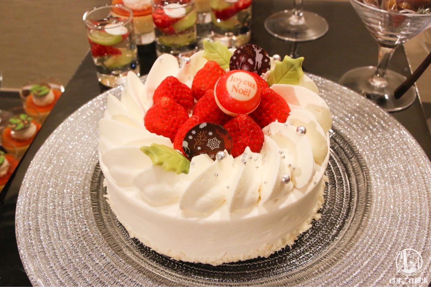 クリスマス ストロベリーケーキ