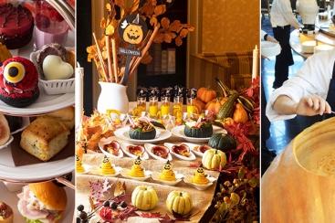 横浜ベイホテル東急 ハロウィンのアフタヌーンティーセットを10月よりスタート!