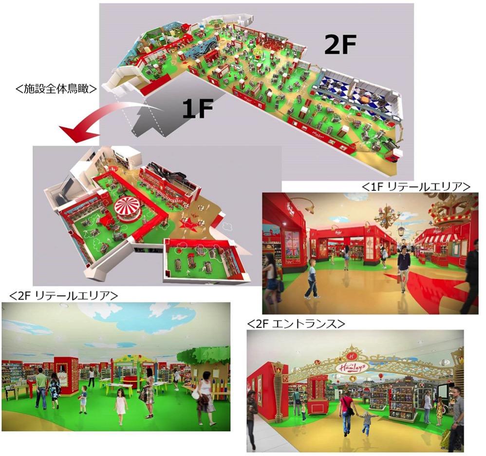 ハムリーズ 横浜ワールドポーターズ店