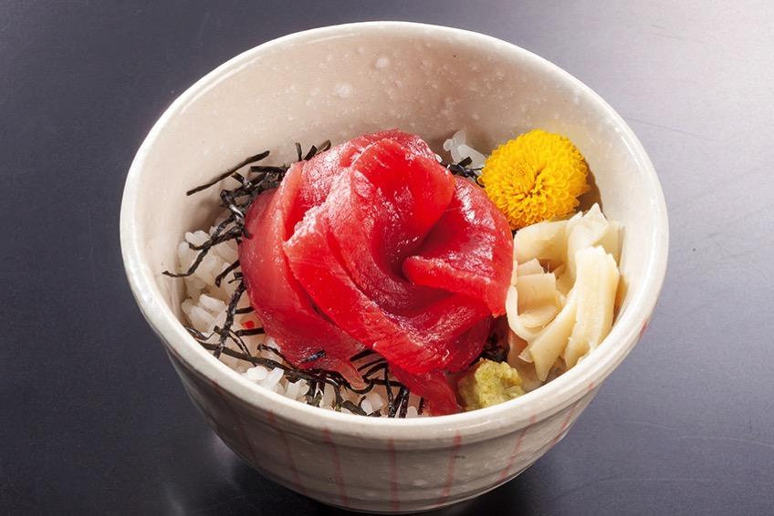 ミニ鉄火丼(780円)