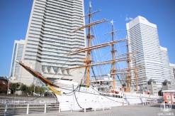 帆船日本丸 大規模修工事繕により2018年11月1日から休館