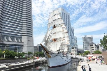 帆船日本丸「総帆展帆」を10月8日に開催!2018年ラスト開催