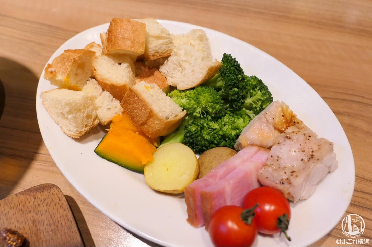 野菜+MEATセット