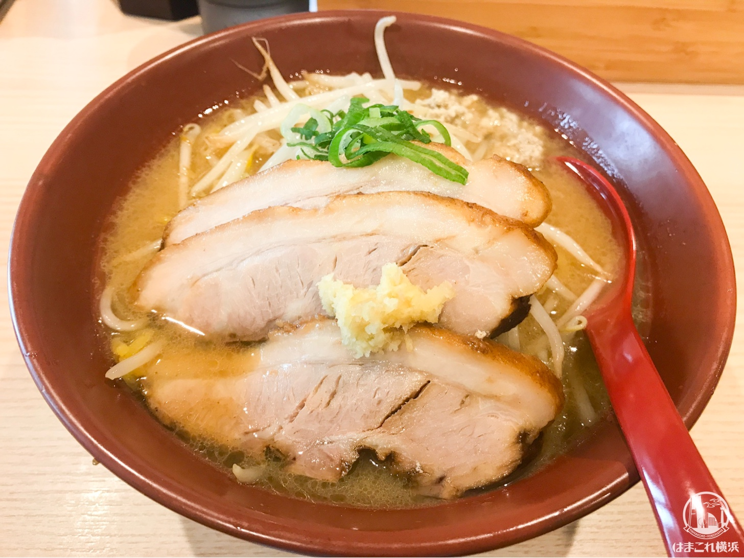 横浜・南太田「拉麺 大公」の焼き味噌ラーメンに虜!甘系味噌でえび出汁みそ