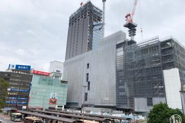 2018年10月 横浜駅西口 駅ビル完成までの様子 [写真掲載]