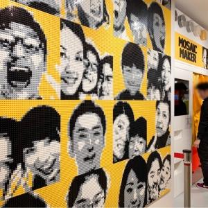 レゴストア 横浜ランドマークに行ってきた!モザイク画を作るレゴモザイクメーカー
