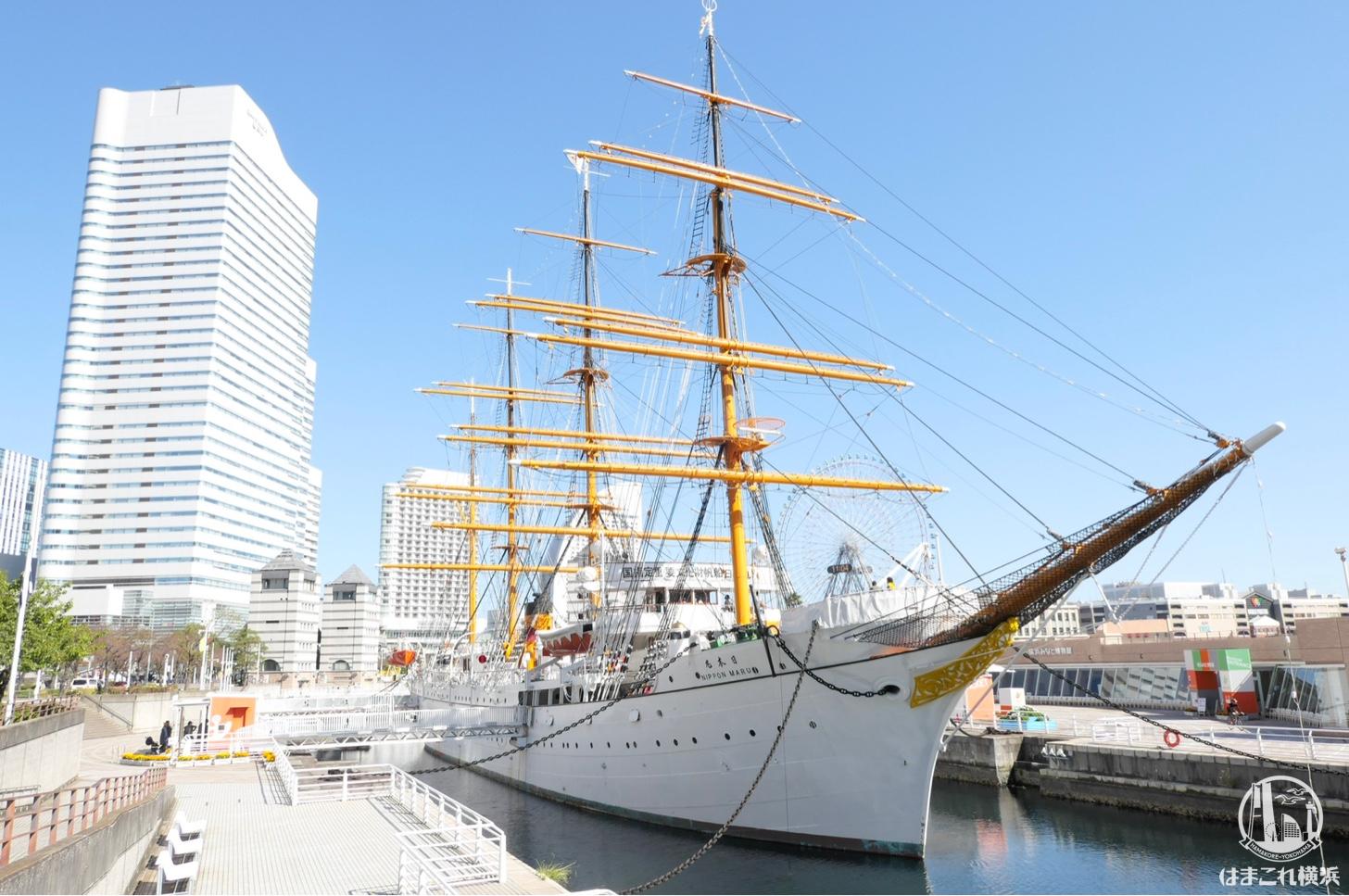 帆船日本丸観光!甲板や船内で日本丸の歴史を肌で感じてきた