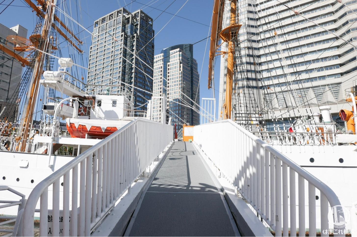 帆船日本丸 観光