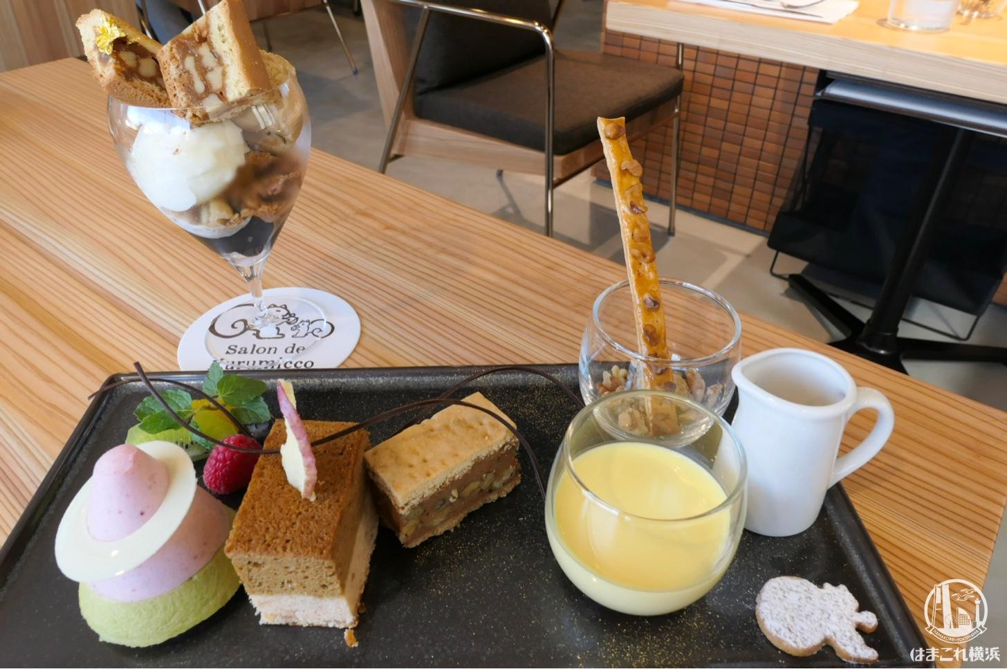 クルミッ子のカフェ「サロン・ド・クルミッ子」で予約限定プレート初体験!隠れリスも