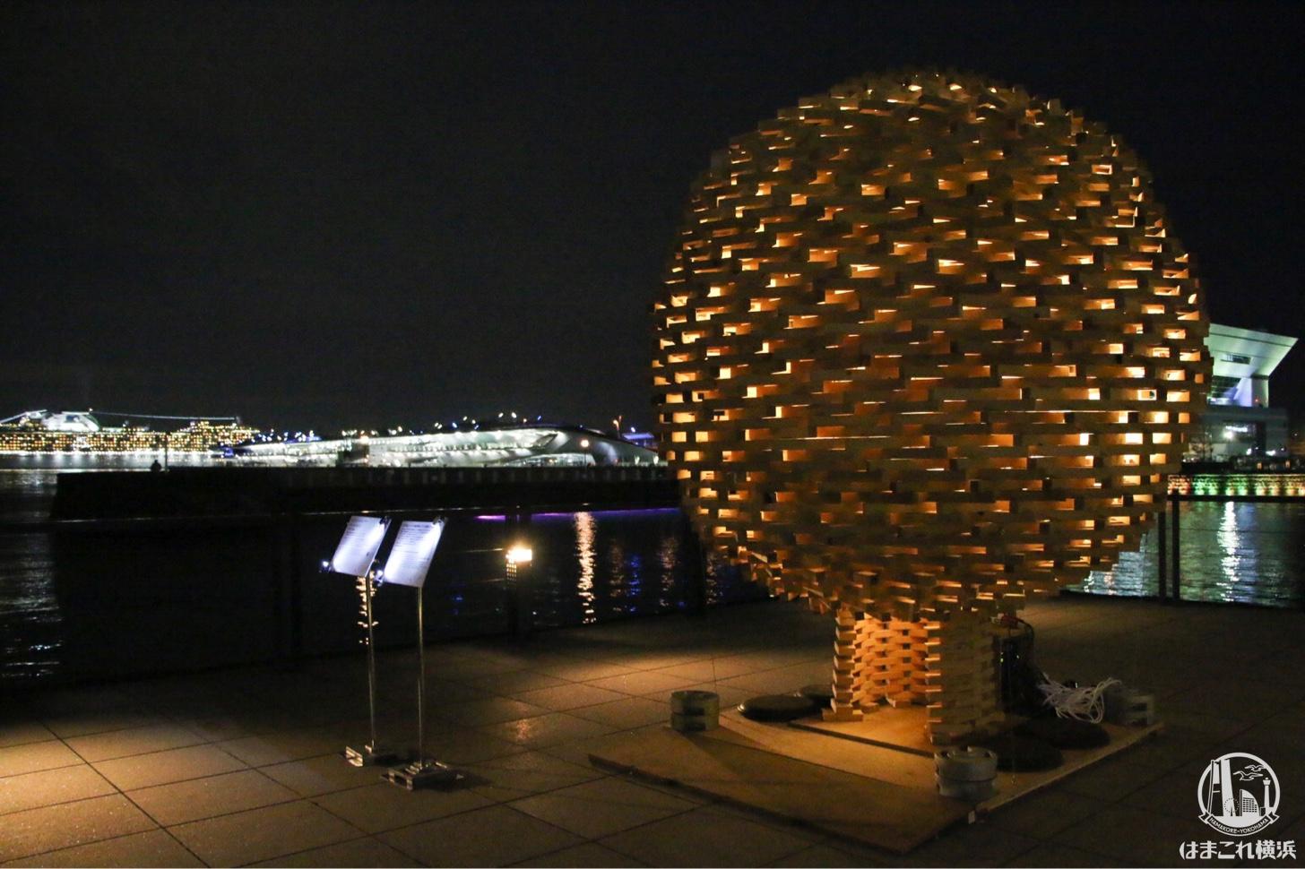 光球(関東学院大学建築・環境学部 ビルディング・ワークショップ2018+)