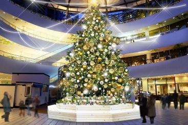 2018年 横浜ベイクォーターのクリスマスイルミネーションは11月3日より開催!