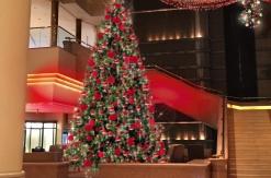 インターコンチネンタル クリスマス 2018、クリスマスレッドに彩られたツリーが初登場!