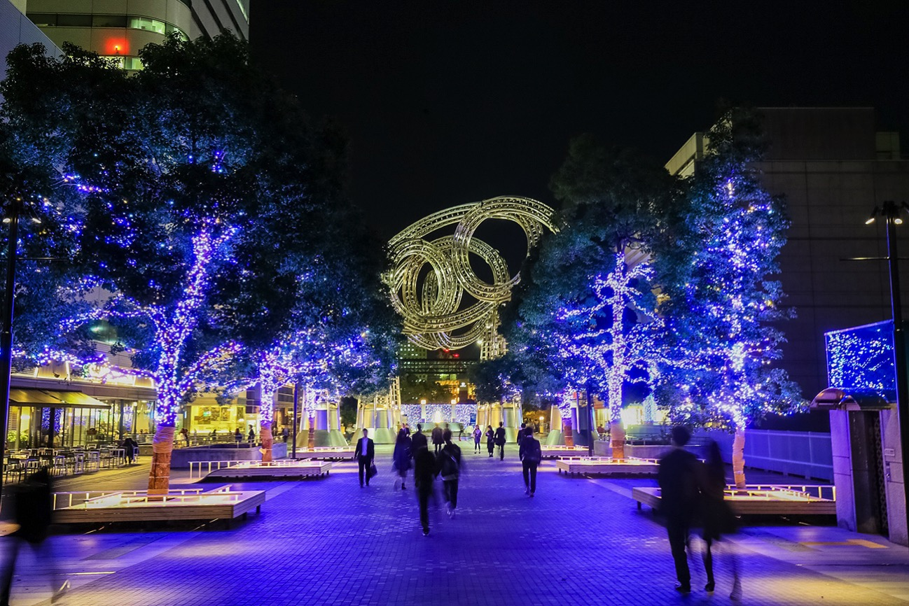 横浜最大級イルミネーション「ヨコハマミライト」が拡大開催!横浜駅・みなとみらい彩る
