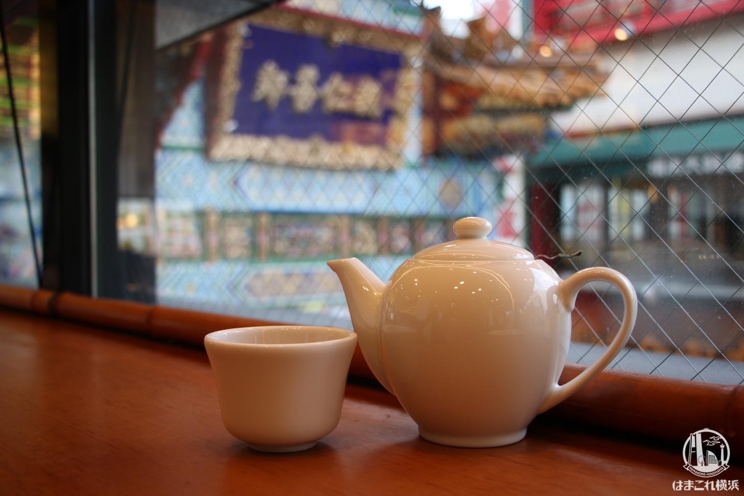 横浜中華街 聘珍楼のカフェは善隣門を見下ろせる最高のロケーション!