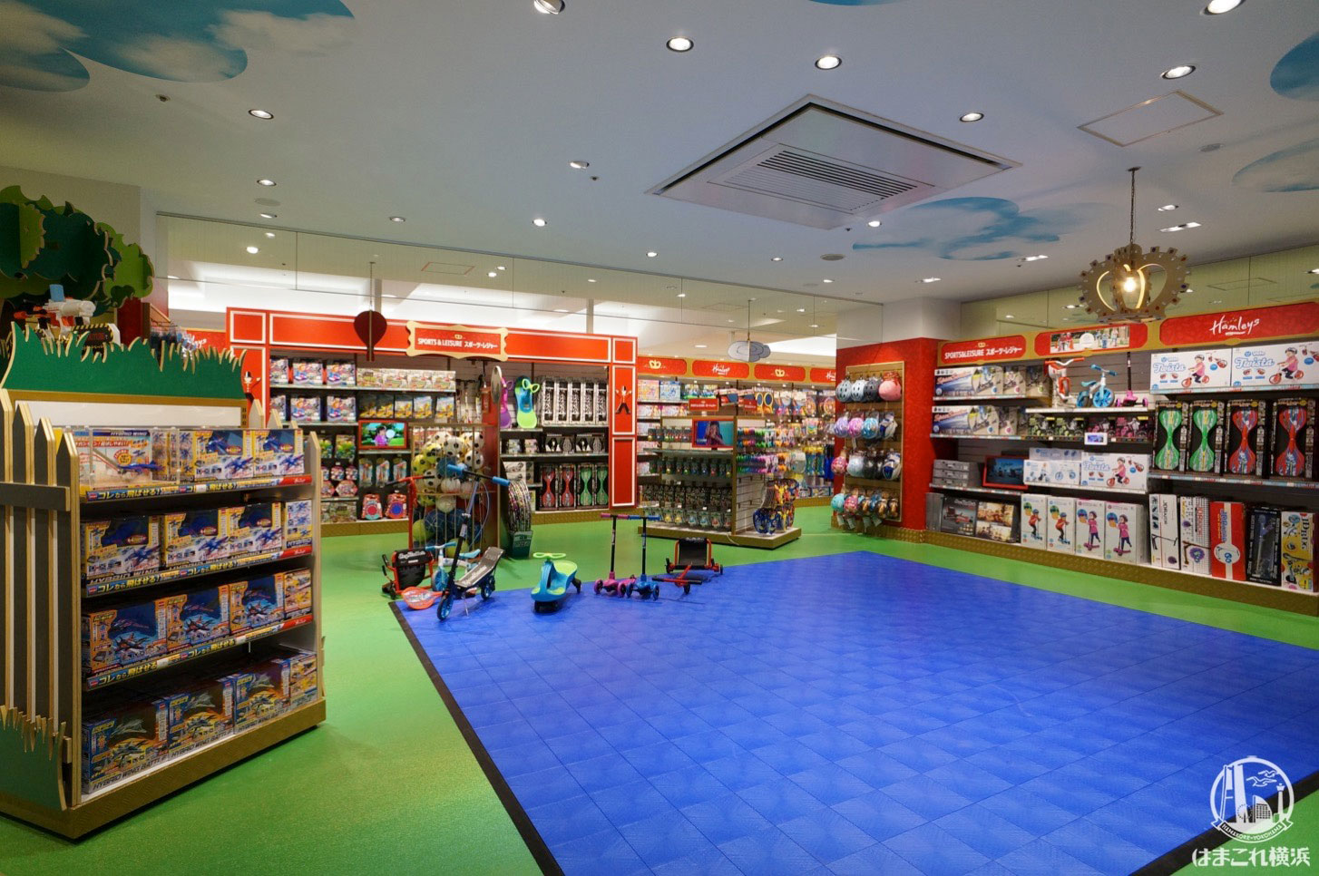 Hamleys yokohama world porters report 25