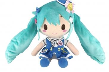 初音ミクフィギュア約200体が横浜人形の家に集結