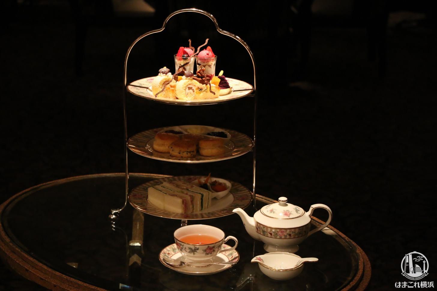 ロイヤル アスコットでクラシカルなアフタヌーンティー!横浜ロイヤルパークホテル