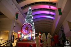 2018年 クイーンズスクエア横浜のクリスマスツリー点灯!今年話題の曲と光とともに