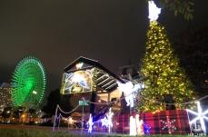 横浜ワールドポーターズ クリスマスイルミネーションが点灯!