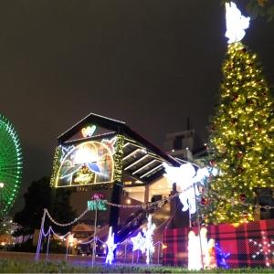 横浜ワールドポーターズ クリスマスイルミネーションが点灯!横浜の夜景とセットで