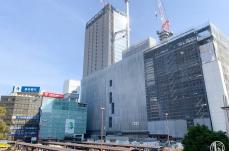 2018年11月 横浜駅西口 駅ビル完成までの様子 [写真掲載]