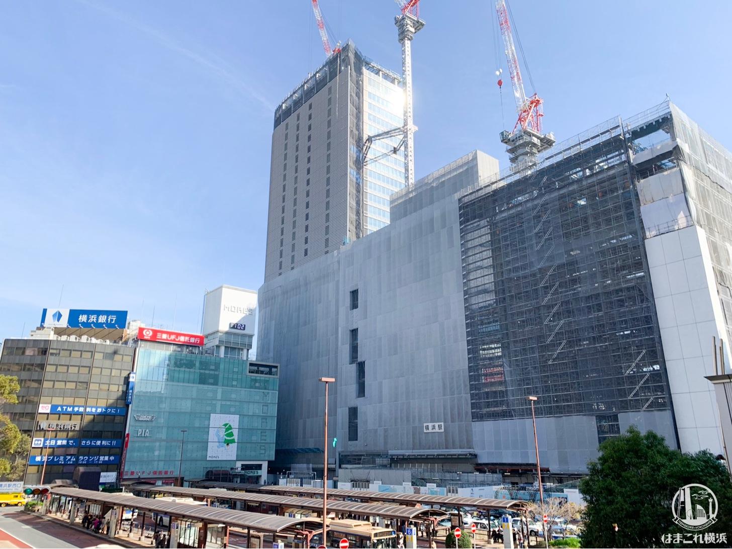 2018年11月 横浜駅西口の様